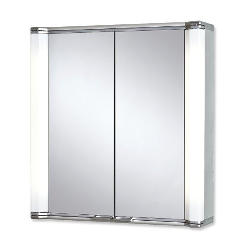 Spiegelschrank Aluminium Jokey - 70 cm
