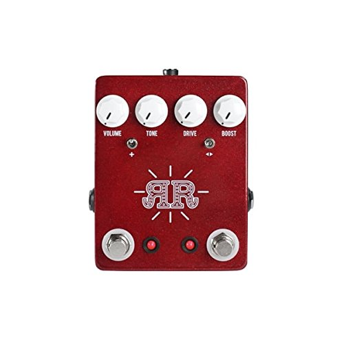 JHS RUBY RED BUTCH WALKER SIGNATURE 2 IN 1 OVERDRIVE FUZZ & BOOST