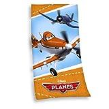 Herding 616416516 Velourshandtuch Disney's Planes, 100 % Baumwolle, bedruckt, 75 x 150 cm