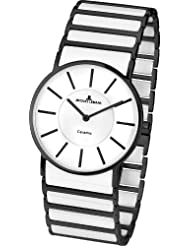 Jacques Lemans Classic Damen-Armbanduhr XS York Analog Keramik 1-1649C