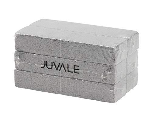 Juvale 6 Satz Bimsstein Sticks - Reinigung Steine, Scheuern Bars, Toilettenschüssel Ring Remover, für Küche, Bad, Pool Haushalt - Grau Bimsstein, 5,9 x 1,4 x 0,9 Zoll Bar-sticks