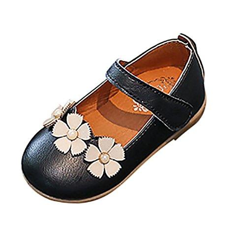 PAOLIAN Verano Zapatos para Niña Princesa Calzado Zapatos de Niñito Antideslizante Cuero...