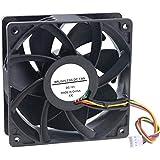 FourDot DC Axial Computer Case Cooling Cabinet Fan 12volt 5inch 120mmX25mm High Speed Fan