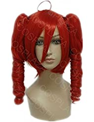 COSPLAZA Perruque VOCALOID Hatsune kasane teto Anime Cosplay Wig synthétique Cheveux