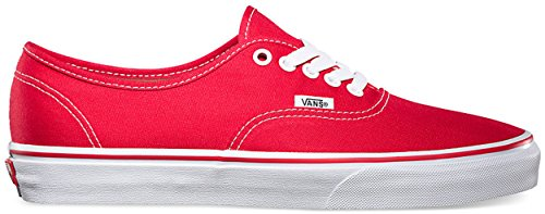 Vans U Authentic , Baskets mode mixte adulte Rosso (Red)