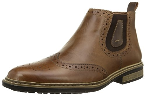 Rieker 37681-25, Men's Chelsea Boots, Brown (Tan), 12 UK (47 EU)