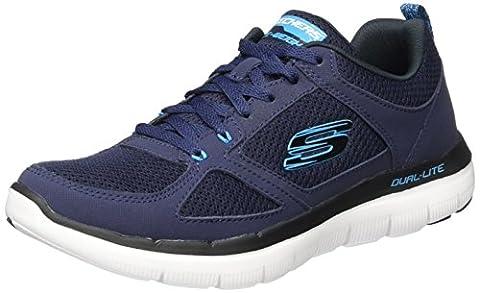 Skechers Men's Flex Advantage 2.0 Multisport Outdoor Shoes, Blue (nvbl), 11 UK