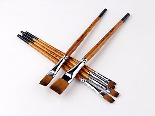 Pennelli per artisti di qualità professionale per acquerelli, acrilici, pittura a olio e pittura a colori guazzo