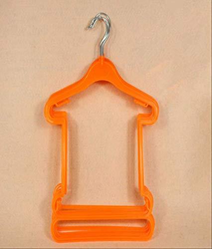 SCCY Aufhänger Kinder Wäscheständer Langlebig Einfaches Regal 29 * 25 * 39cm Orange
