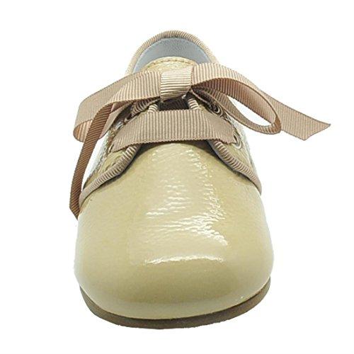 BABATY , Chaussures de ville à lacets pour garçon Beige