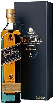 JohnnieWalkerBlueLabel mit Geschenkverpackung Blended Scotch Whisky (1 x 0.7 l)