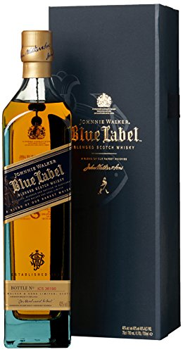 Johnnie Walker Blue Label mit Geschenkverpackung Blended Scotch Whiskey (0,7 L)