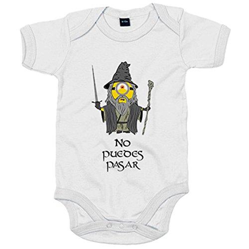Body bebé El Señor de los Anillos Gandalf Minion frase No puedes pas