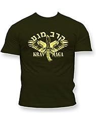 Dirty Ray Arts Martiaux Krav Maga Self Defence t-shirt homme K75