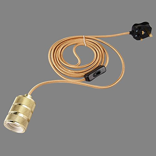 onepre-3-meters-of-3-core-gold-fabric-cable-plug-in-pendant-lighting-kit-pendant-light-fitting-with-
