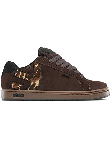 Etnies Fader, Chaussures de Skateboard Homme Marron (Brown/black/gum)