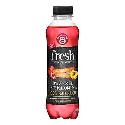 Teekanne-FRESH-Probierset-Echter-Frchtetee-0-Zucker-0-Kalorien-100-Natrlich-6-Flaschen–500ml-Waldbeere-Limette-Apfel-Zitrone-Granatapfel-Pfirsich-inkl-150-Pfand