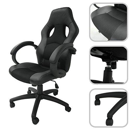 sedie da gaming e da ufficio attrezzatura per youtubers e gaming microfoni videocamere e. Black Bedroom Furniture Sets. Home Design Ideas