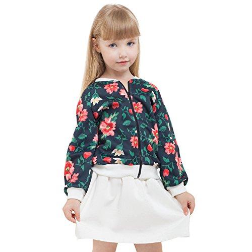Sanlutoz Niños Conjunto falda chaqueta chica Equipo