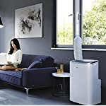 Aozzy AirLock 100 Fensterabdichtung für Mobile Klimageräte, Luftentfeuchter und Ablufttrockner Hot Air Stop