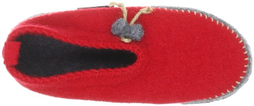 Giesswein Pusterwald, Chaussons mixte adulte Rouge (311 Rot)