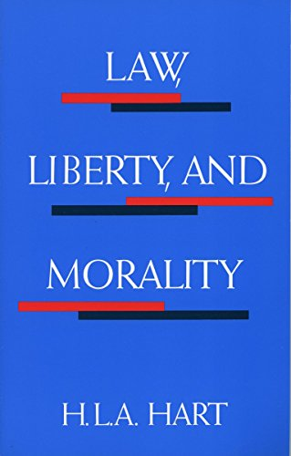 Law, Liberty, and Morality (Harry Camp Lectures at Stanford University)
