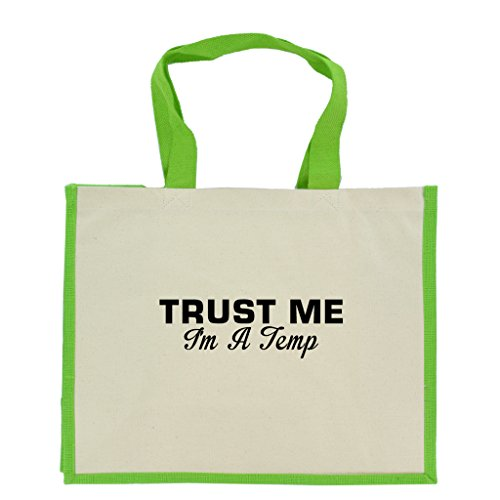 trust-me-im-a-temp-in-black-print-jute-large-shopping-bag-with-green-handles-and-trim