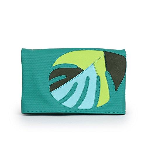 Danielle Nicole Aloha Clutch Damen Kunstleder Clutch-Taschen Green