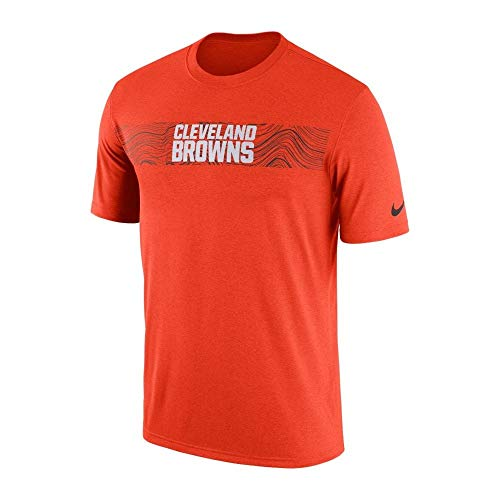Nike NFL Cleveland Browns Sideline Seismic Legend Performance T-Shirt Small