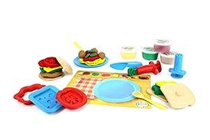 Green Toys- Set Preparador De Comida De Masa, Multicolor (DMM1-1242)