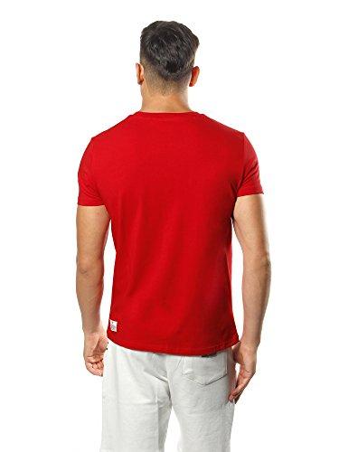 Leone 1947Sport Fight Sportbekleidung lsm561, T-Shirt Herren rot