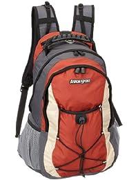 ASPENSPORT Sac à dos Outdoor et Trekking 35L Gris / rouge