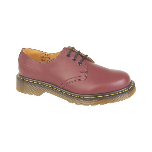 Dr. Martens 1461z Smooth Cherry, Scarpe Basse Stringate Unisex – Adulto Multicolore (Rouge cerise)