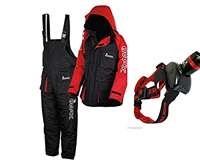 New Imax Thermo Suit 2pc Sea Fishing 100% Waterproof + Free Cree Head Light by imax
