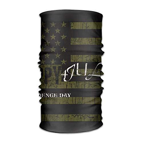 4th July Happy Independent Day Crack Women&Men Neck Gaiter Magic Kopfbedeckung...