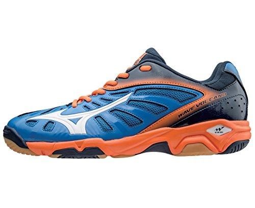 Mizuno Wave Volcano Chaussure Sport En Salle - AW15 blue
