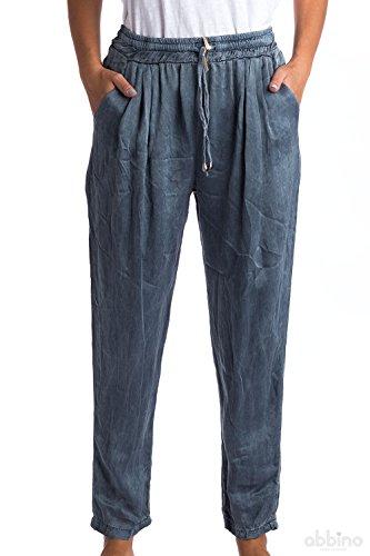 Abbino 1512 Pantalone Donne Ragazza – Made in Italy – 6 Colori – Pants Primavera Estate Autunno Inverno Slim Fit Casual Tempo Libero Lunghi Sexy Alla Moda Eleganti Aderenti – Taglia Unica