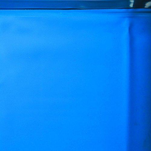 Gre FPR241 - Liner para piscinas redondas, Ø240 cm altura 120 cm, color azul