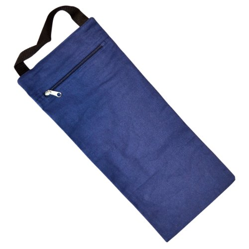 Yogadirect ungefüllt Yoga Sand Tasche, blau