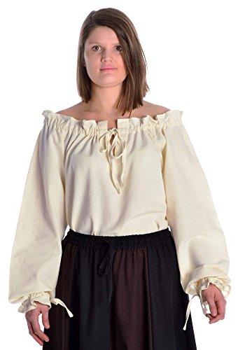 - Weiße Renaissance Kleid