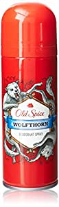 Old Spice Aerosol Deodorant spray Wolfthorn, 1er Pack (1 x 150 ml)