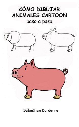Como dibujar animales cartoon paso a paso