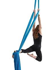 Yoga DIY Silk Pilates Aerial Silks Equipment Aerial Yoga Tuch Aerial Silk elastische Yoga Hängematte NUR Stoff KEIN Zubehör 10 Meter