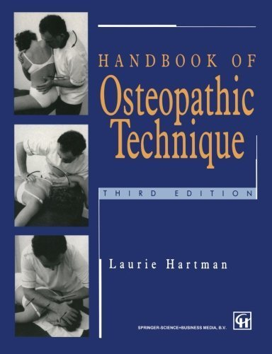 Handbook of Osteopathic Technique by Laurie S. Hartman (1996-01-01)
