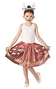 Rubies - Tutú oficial de ciervo, disfraz de animal para niños, criaturas del bosque, talla única para niños aprox. 3 - 6 años