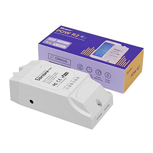 Sonoff Switch, verbesserte Sonoff Smart WiFi Switch Home Automatisierung Intelligente Steckdose Wireless Smart Light Switch für iOS Android kompatibel mit Alexa