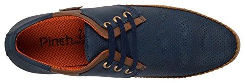 Shoes Bank Men's Blue Casual Shoes-7