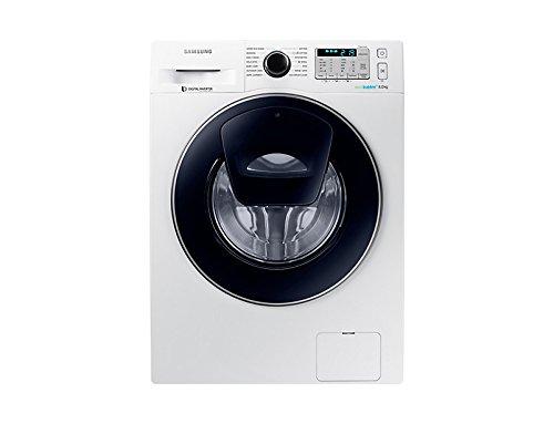 Samsung WW80K5413UW AddWash/EcoBubble 8kg 1400rpm Freestanding Washing Machine-White