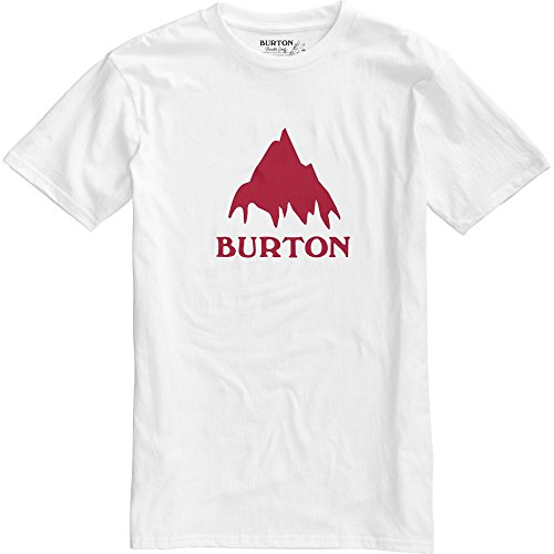 burton-classic-mountain-short-sleeve-t-shirt-homme-stout-white-fr-l-taille-fabricant-l