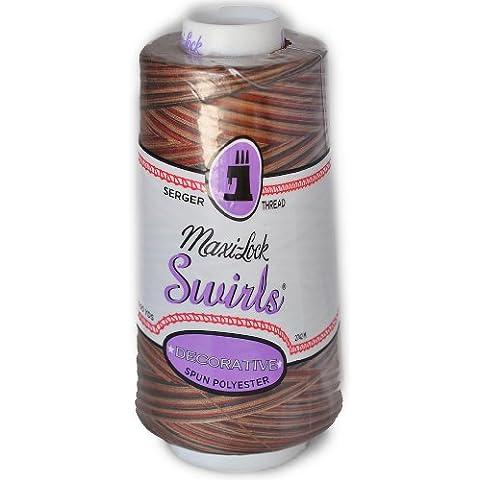Maxi Lock Swirls Mocha Almond Fudge Serger